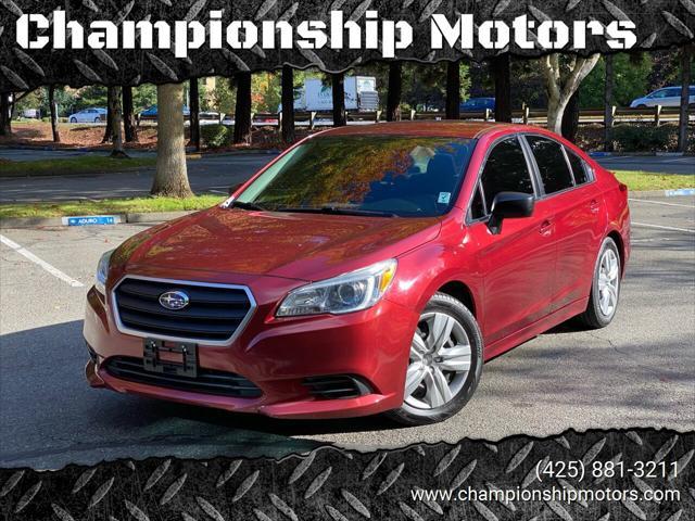 2016 Subaru Legacy 2.5i for sale in Redmond, WA