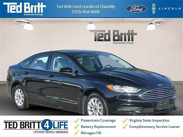 2017 Ford Fusion S for sale in Chantilly, VA