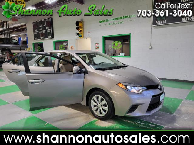 2014 Toyota Corolla LE CVT for sale in Manassas, VA