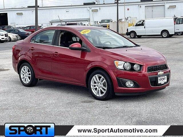 2015 Chevrolet Sonic LT for sale in Silver Spring, MD