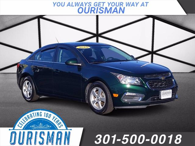 2015 Chevrolet Cruze LT for sale in MARLOW HEIGHTS, MD