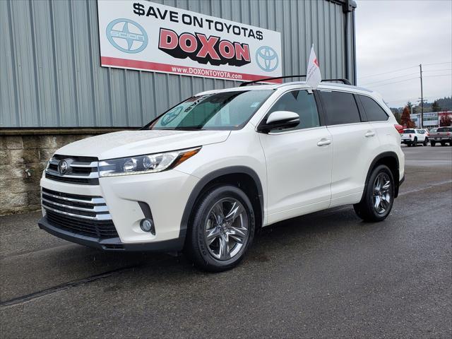 2018 Toyota Highlander Limited Platinum for sale in Auburn, WA