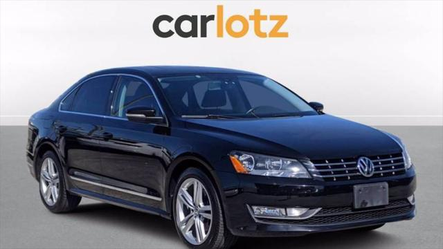 2015 Volkswagen Passat 2.0L TDI SE w/Sunroof & Nav for sale in Clearwater, FL