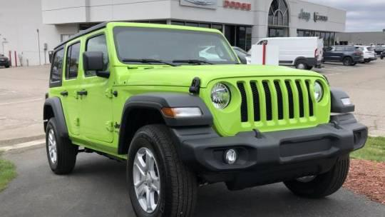 2021 Jeep Wrangler Unlimited Sport S for sale in Sterling Heights, MI