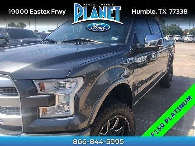 2016 Ford F-150 Platinum for sale in Humble, TX