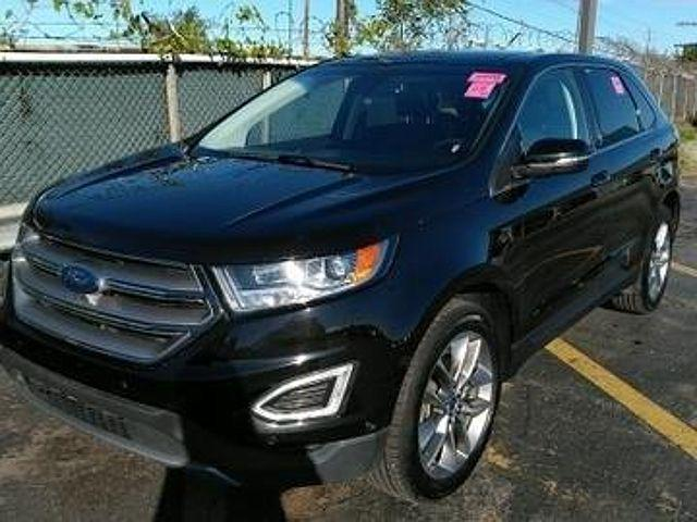 2018 Ford Edge Titanium for sale in Auburn, IN