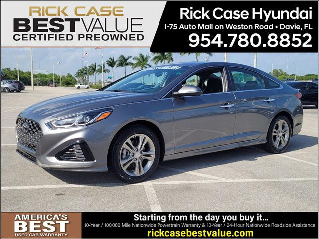 2019 Hyundai Sonata SEL for sale in Davie, FL