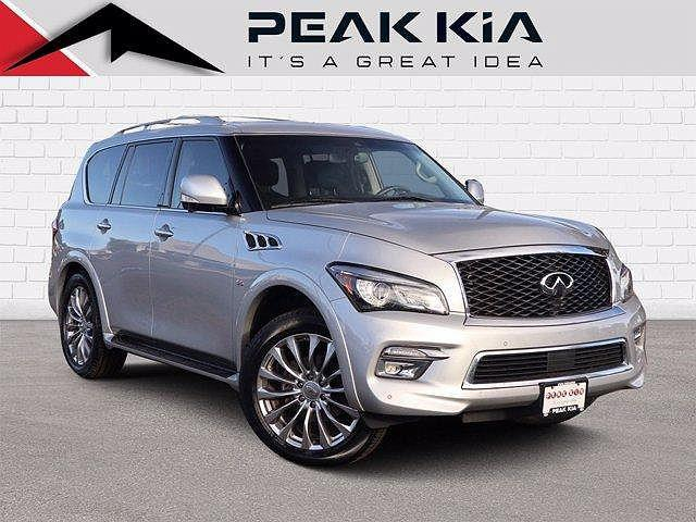 2017 INFINITI QX80 AWD for sale in Littleton, CO