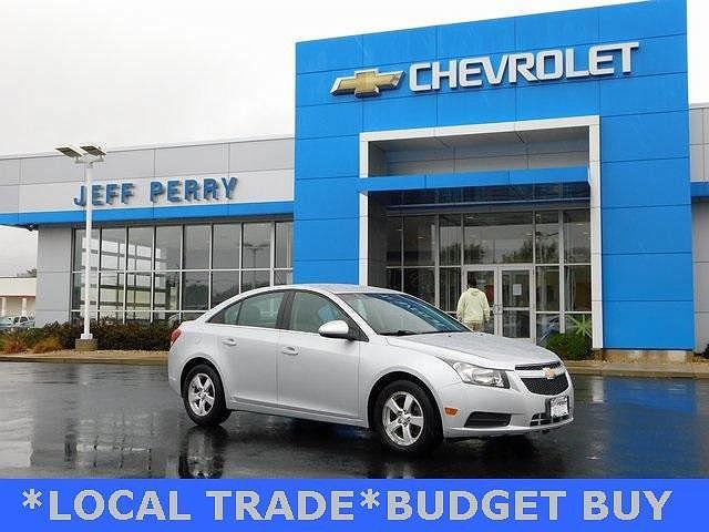 2012 Chevrolet Cruze LT w/1FL for sale in Rochelle, IL