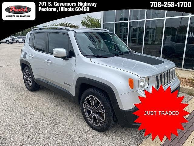 2016 Jeep Renegade Limited for sale in Peotone, IL