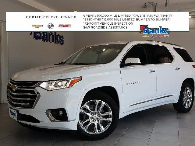 2018 Chevrolet Traverse High Country for sale in Concord, NH