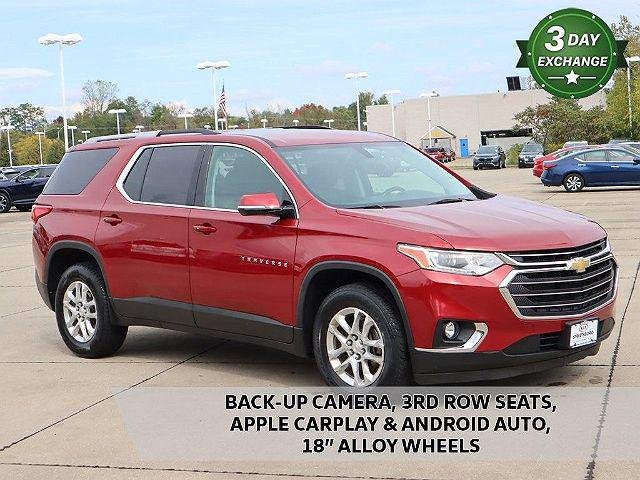 2018 Chevrolet Traverse LT Cloth for sale in Streetsboro, OH