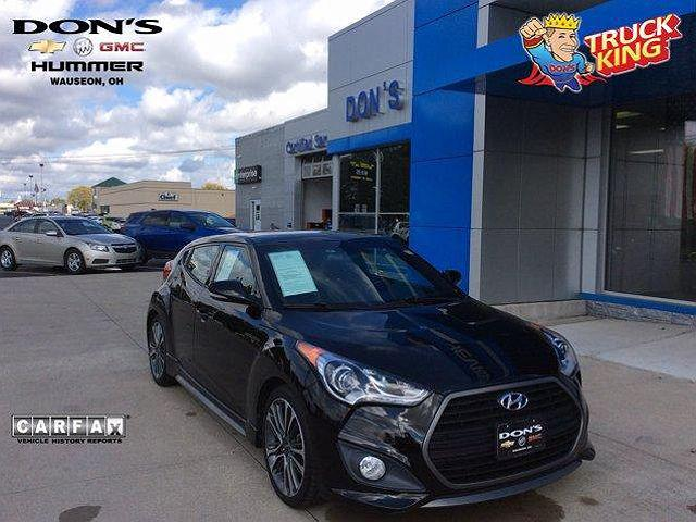 2016 Hyundai Veloster Turbo for sale in Wauseon, OH