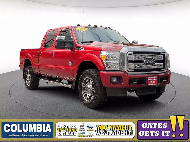 2016 Ford F-350 Platinum for sale in Columbia, CT