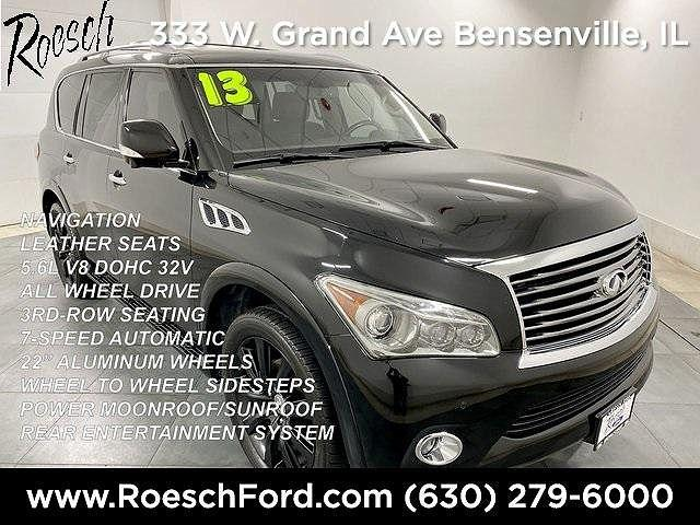 2013 INFINITI QX56 4WD 4dr *Ltd Avail* for sale in Bensenville, IL