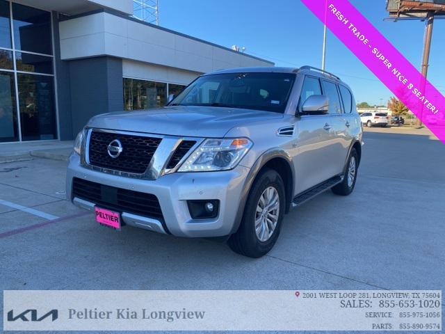 2017 Nissan Armada SV for sale in Longview, TX