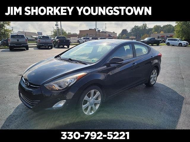 2012 Hyundai Elantra Limited for sale in Youngstown, OH