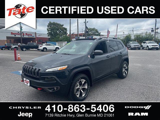 2016 Jeep Cherokee Trailhawk for sale in Glen Burnie, MD