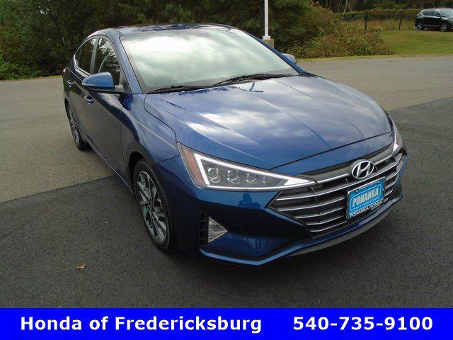 2019 Hyundai Elantra Limited for sale in Fredericksburg, VA
