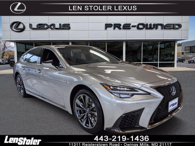 2021 Lexus LS LS 500 F SPORT for sale in Owings Mills, MD