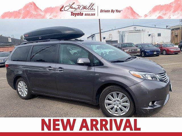 2017 Toyota Sienna Limited for sale in Boulder, CO