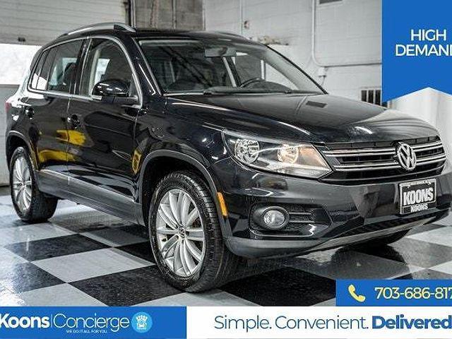 2015 Volkswagen Tiguan SEL for sale in Falls Church, VA