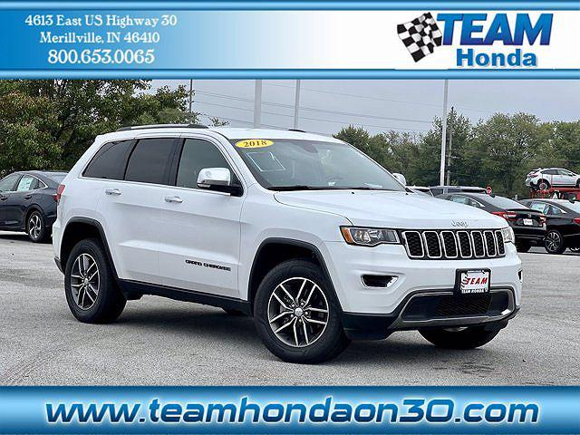 2018 Jeep Grand Cherokee Limited for sale in Merrillville, IN