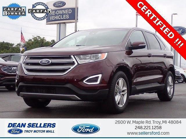 2018 Ford Edge SEL for sale in Troy, MI
