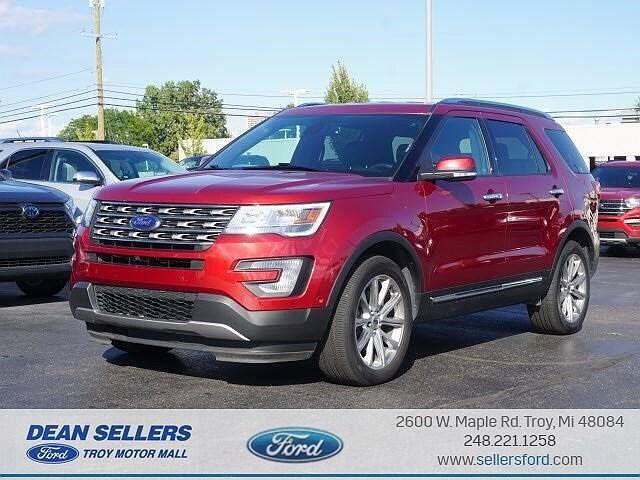 2017 Ford Explorer Limited for sale in Troy, MI