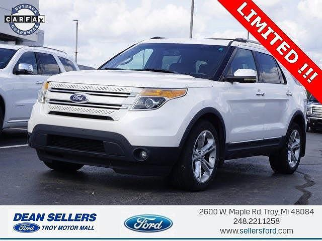 2011 Ford Explorer Limited for sale in Troy, MI