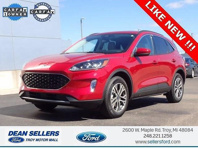 2021 Ford Escape SEL for sale in Troy, MI