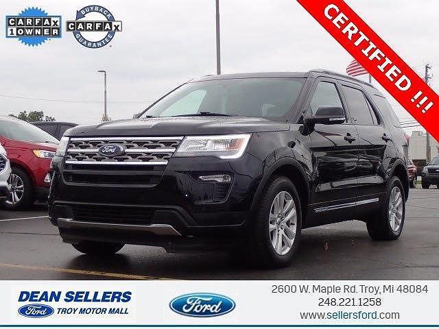 2018 Ford Explorer XLT for sale in Troy, MI