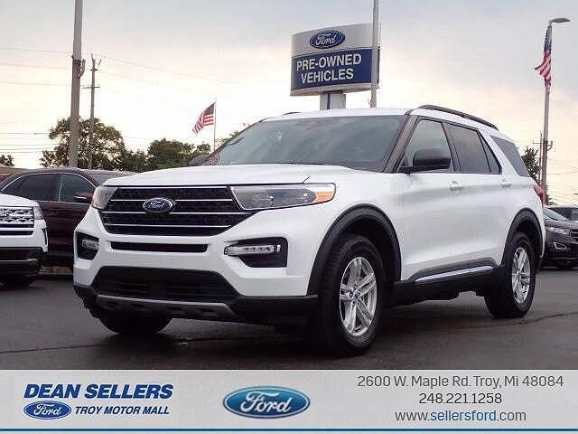 2021 Ford Explorer XLT for sale in Troy, MI