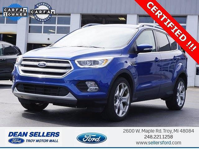 2019 Ford Escape Titanium for sale in Troy, MI