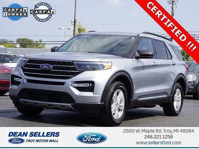 2020 Ford Explorer XLT for sale in Troy, MI