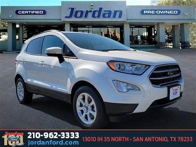 2019 Ford EcoSport SE for sale in San Antonio, TX