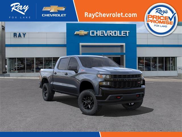 2021 Chevrolet Silverado 1500 Custom Trail Boss for sale in Fox Lake, IL