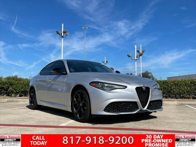 2018 Alfa Romeo Giulia Ti Sport for sale in Euless, TX