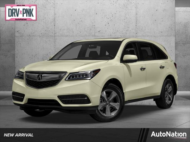 2016 Acura MDX FWD 4dr for sale in Fort Worth, TX