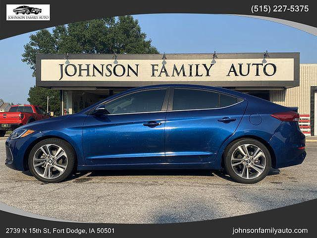 2018 Hyundai Elantra Limited for sale in Fort Dodge, IA