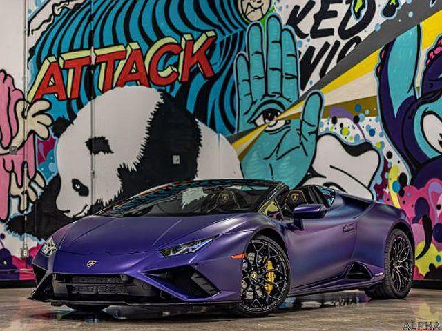 2021 Lamborghini Huracan EVO Spyder RWD for sale in Chicago, IL