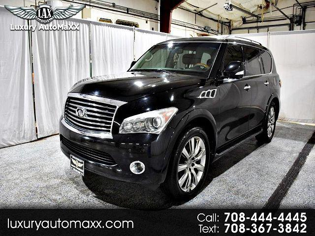 2011 INFINITI QX56 8-passenger for sale in Tinley Park, IL