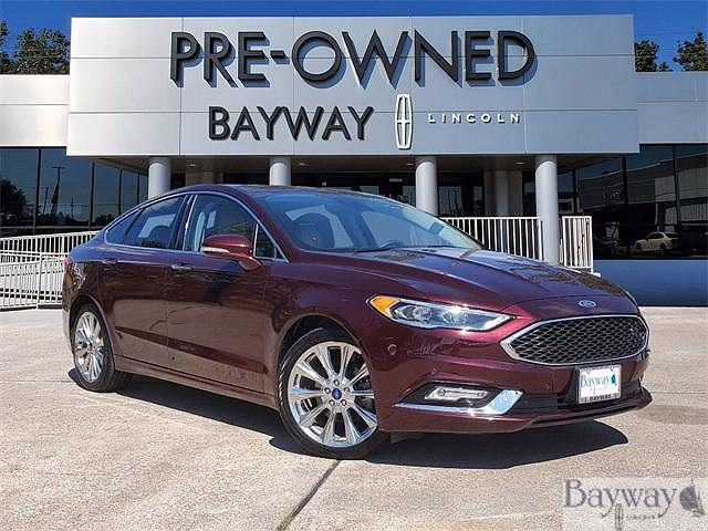 2017 Ford Fusion Platinum for sale in Houston, TX