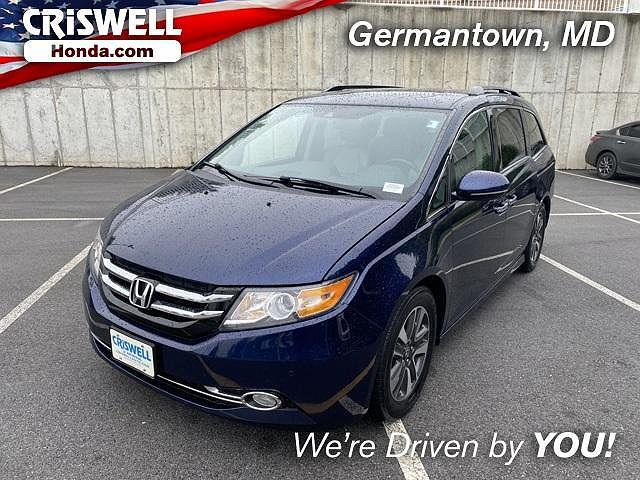 2016 Honda Odyssey Touring for sale in Germantown, MD