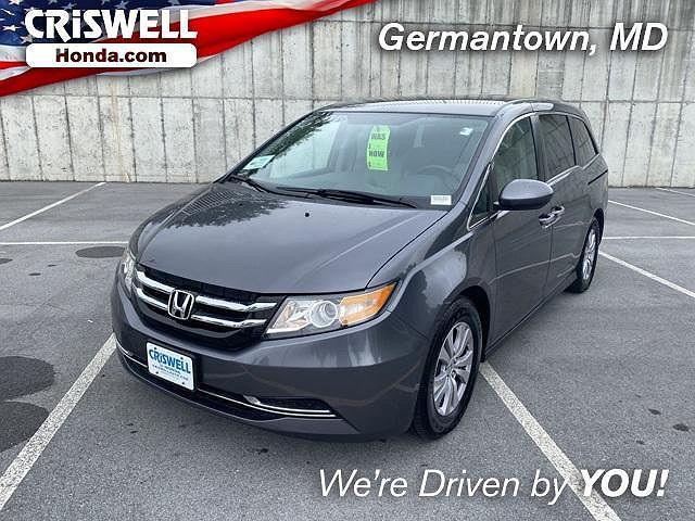 2016 Honda Odyssey SE for sale in Germantown, MD