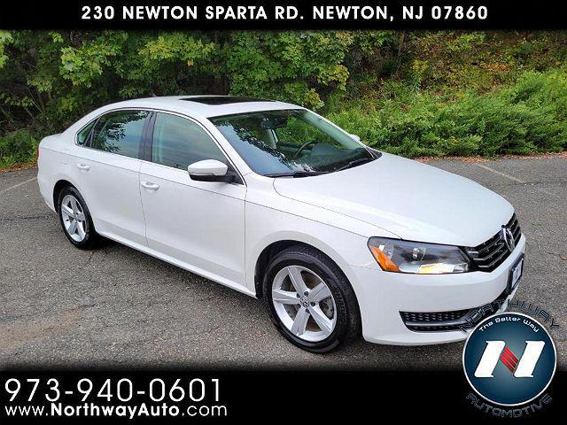 2013 Volkswagen Passat TDI SE w/Sunroof for sale in Newton, NJ