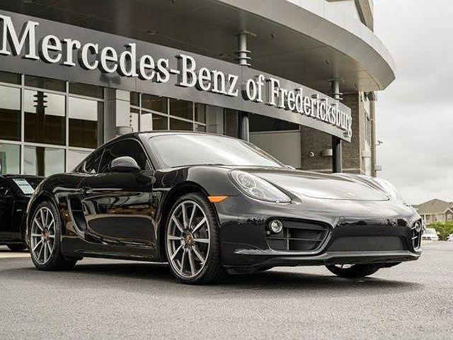 2016 Porsche Cayman Black Edition for sale in Fredericksburg, VA