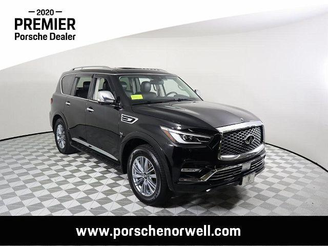 2019 INFINITI QX80 LUXE for sale in Norwell, MA