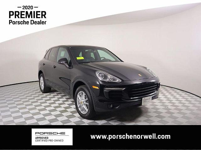 2016 Porsche Cayenne AWD 4dr for sale in Norwell, MA