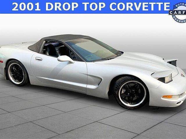 2001 Chevrolet Corvette 2dr Convertible for sale in Flint, MI